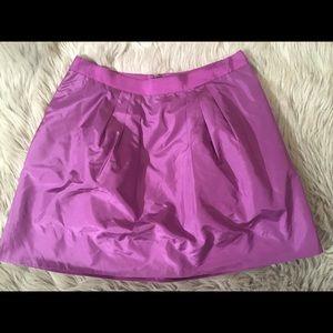 J.Crew Women's taffeta mini skirt size 6